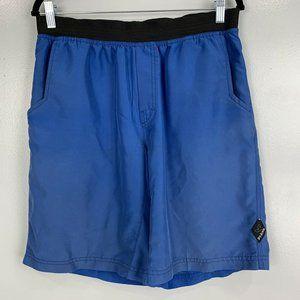 Prana Royal Blue Mojo Shorts with Pockets Size L